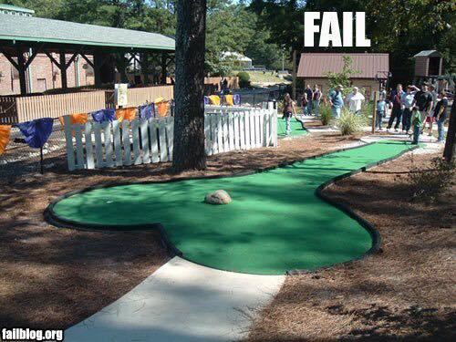 Ese golfista es un loquillo